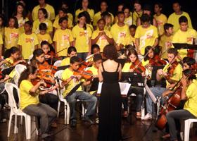 Tardes Musicais Big Band Infanto-Juvenil do Guri