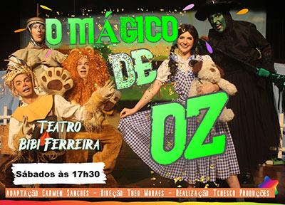 O Mágico de Oz no Teatro Bibi Ferreira