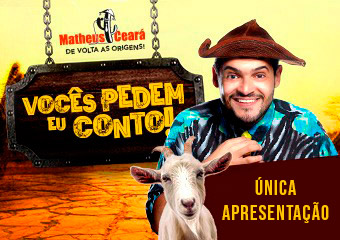 Matheus Ceará no Comedy Sampa Club