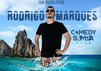 Rodrigo Marques no Comedy Sampa