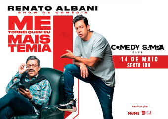 Renato Albani no Comedy Sampa