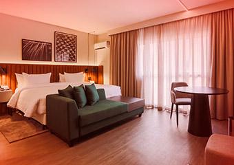Noite Romântica no Hotel Double Tree by Hilton Itaim