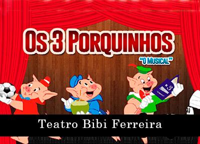 Os Três Porquinhos - O Musical