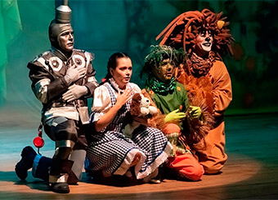 O Mágico de Oz - O Espetáculo