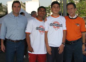 Geraldo Mantovani Filho, Welington, Erik Luiz Bortelmann Druccono e Walter Feldman